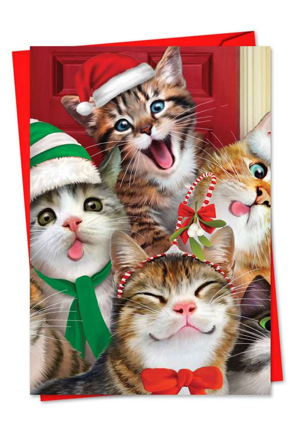 Merry Christmas to Zoo: Creative Christmas Greeting Card
