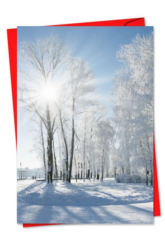 Christmas Sunrise Card