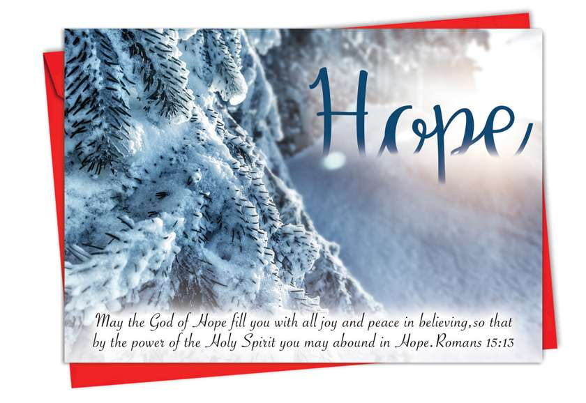 Holiday Devotions Card
