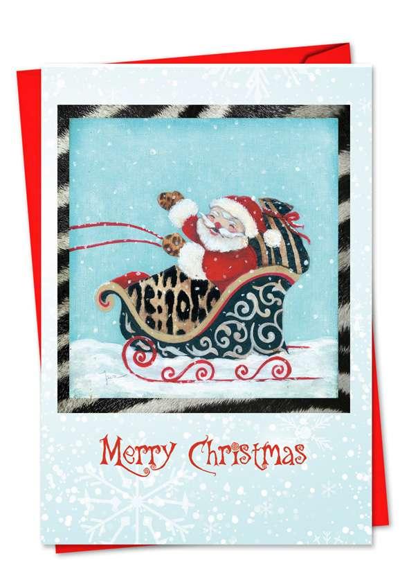 Holiday Hides: Creative Christmas Paper Greeting Card