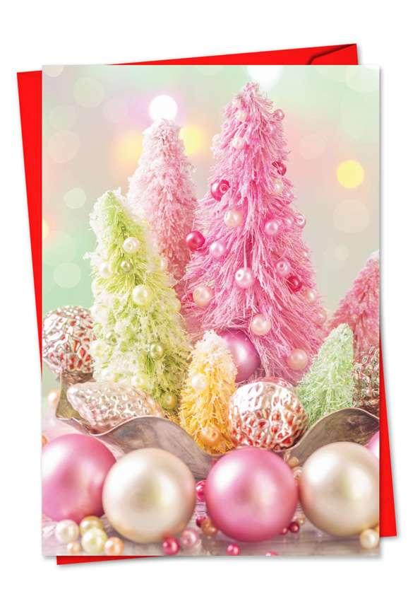 Pastel Noel: Creative Christmas Printed Greeting Card