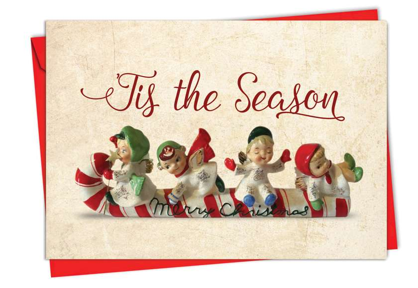 Christmas Antiquities: Creative Christmas Printed Card