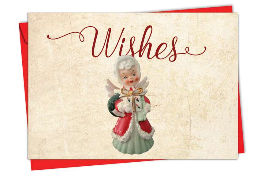 Christmas Antiquities: Creative Christmas Greeting Card