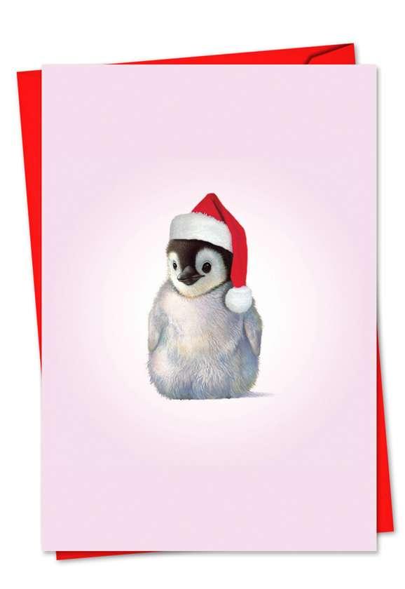 Zoo Babies: Stylish Christmas Printed Card