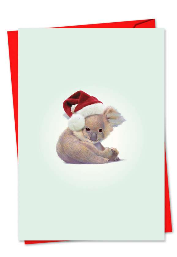Zoo Babies: Creative Christmas Paper Card