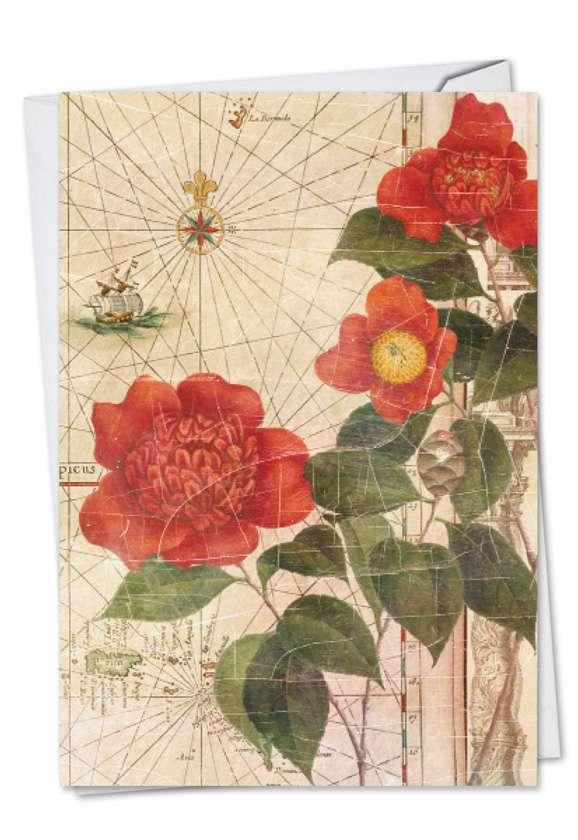 Secret Garden: Stylish Mother's Day Paper Card