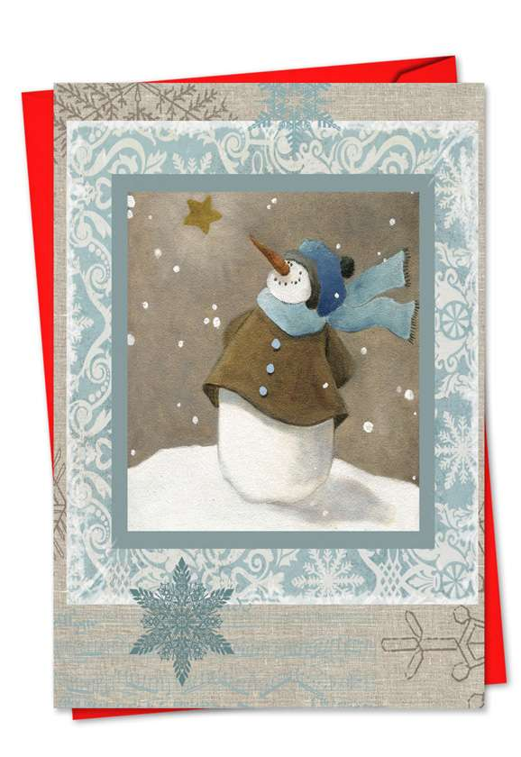 Snow Angels: Creative Christmas Paper Card