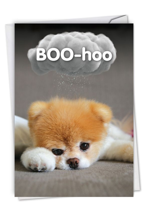 Boo-Hoo: Hilarious Miss You Greeting Card