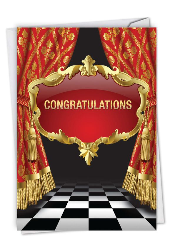 Take A Bow: Stylish Congratulations Card