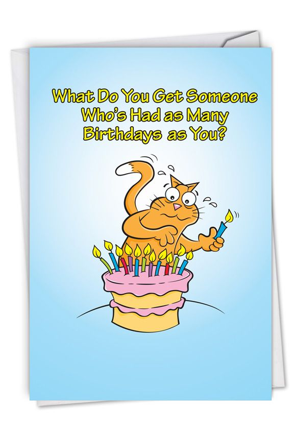 Fire Extinguisher: Hysterical Birthday Printed Card