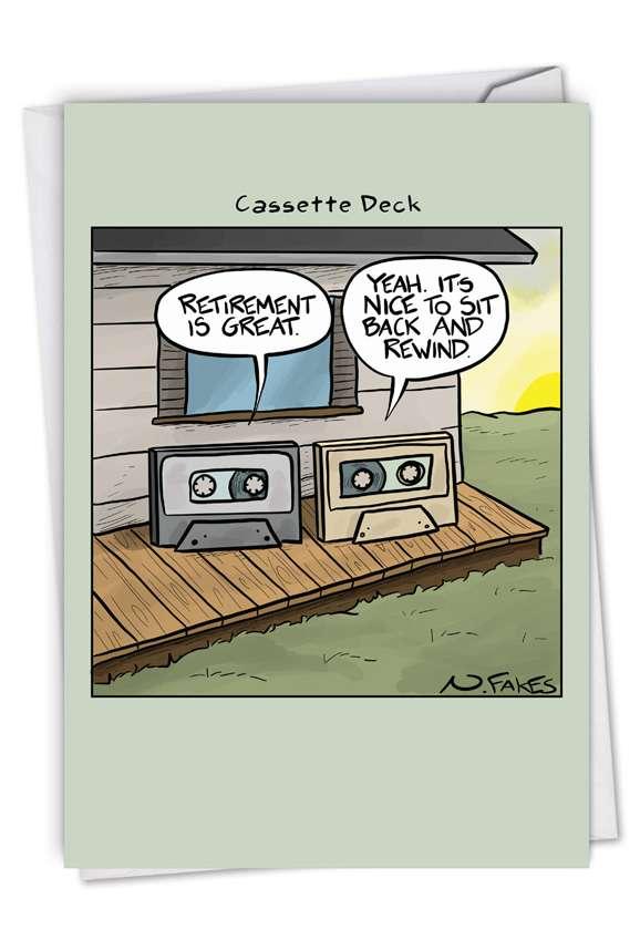 Cassette Deck Card