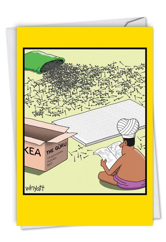 Nail Guru: Hilarious Congratulations Printed Card