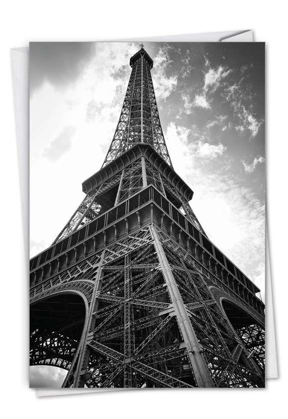 Towering Paris Card