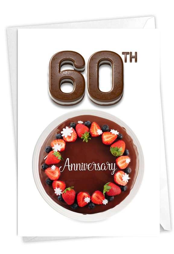 Big Day 60: Creative Milestone Anniversary Greeting Card