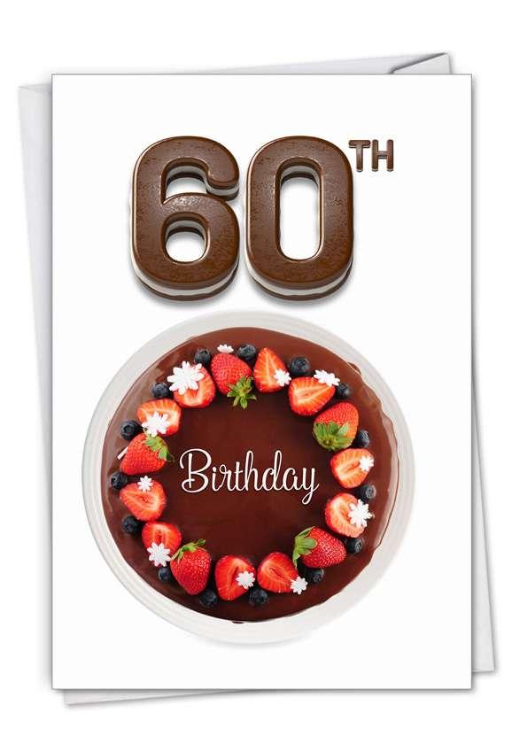 Big Day 60: Stylish Milestone Birthday Card