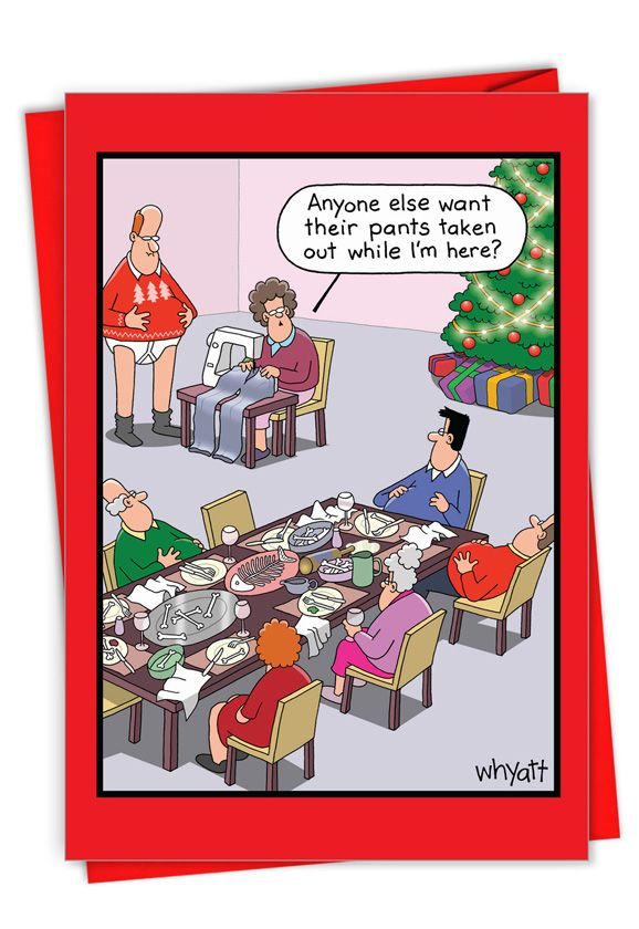 Holiday Sewing: Hysterical Merry Christmas Greeting Card