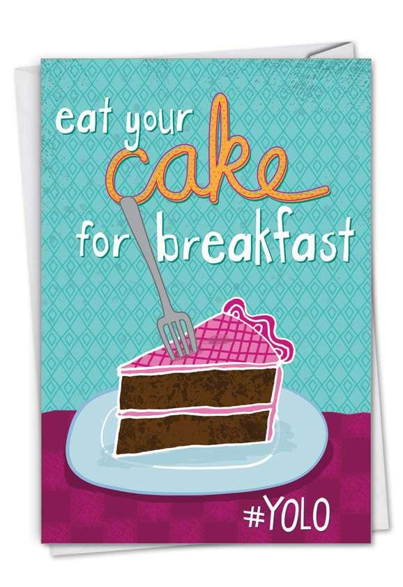 Happy Notes: Stylish Birthday Card