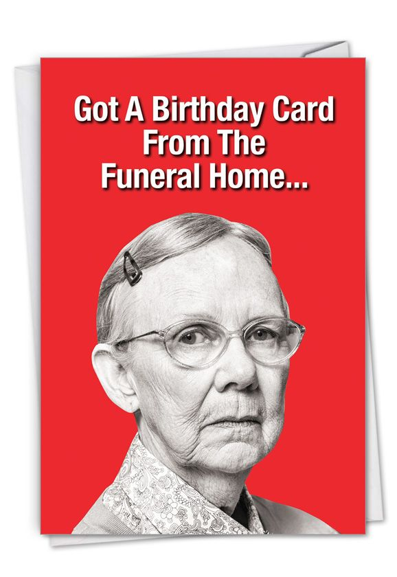 Funeral Home Card Card