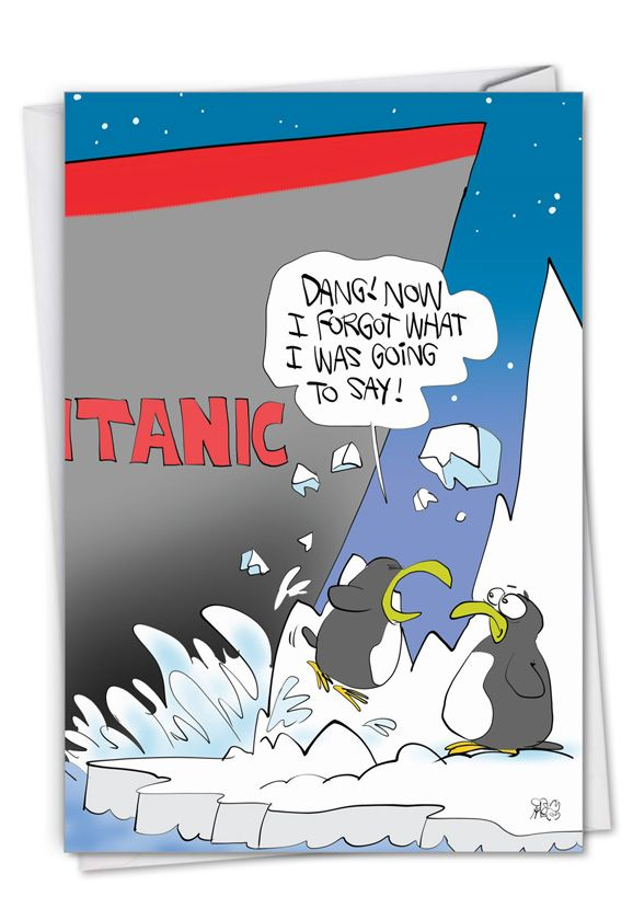 Titanic Bump Card