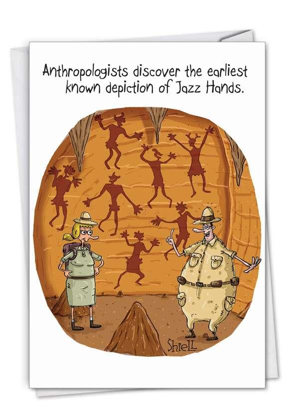 Jazz Hands Card