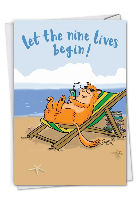 Cat Retirement: Hysterical Retirement Greeting Card