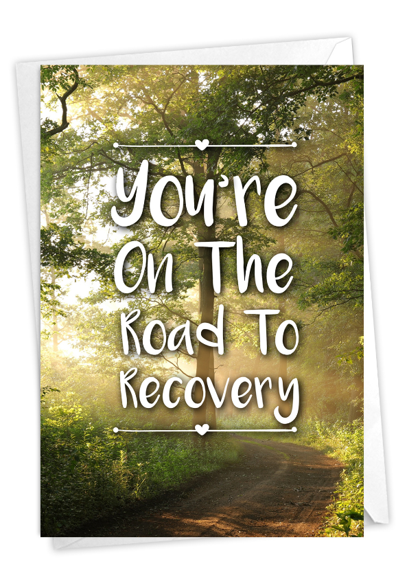 Road to Recovery: Stylish Recovery Card