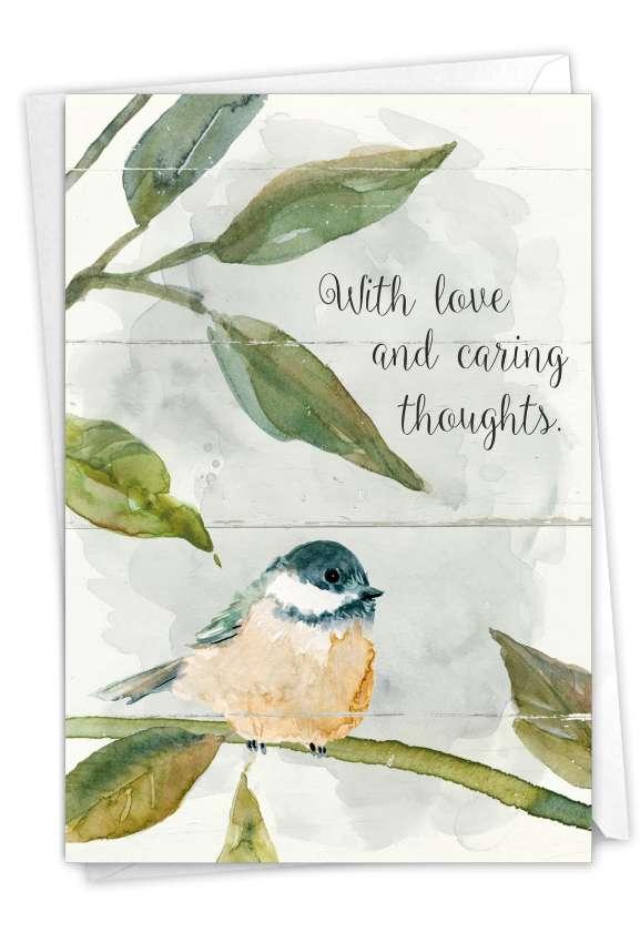 Birds of Encouragement: Creative Sympathy Card
