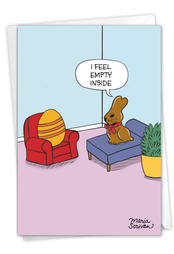Empty Bunny: Hysterical Easter Greeting Card