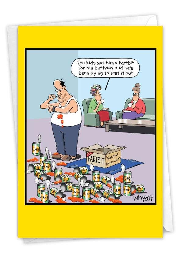 Fartbit: Hilarious Birthday Greeting Card