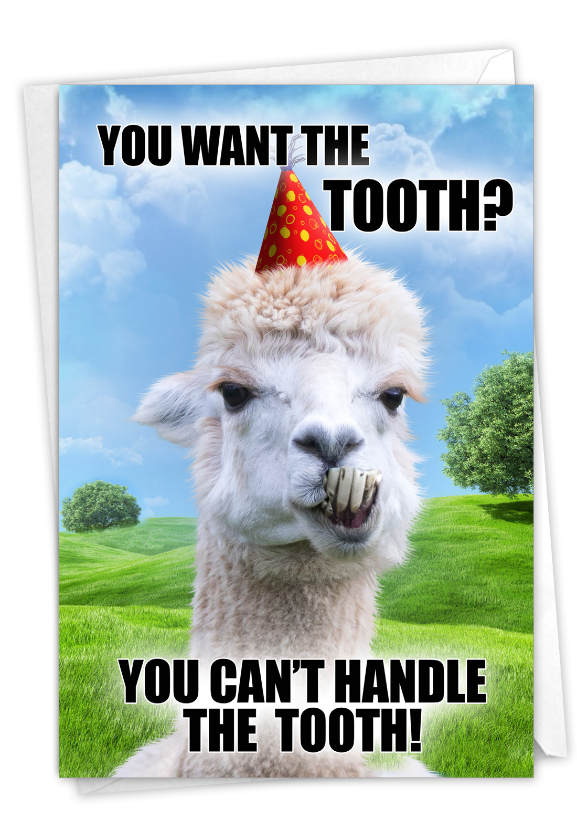 The Tooth: Hilarious Birthday Greeting Card