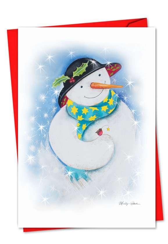 Festive Snowmen Card