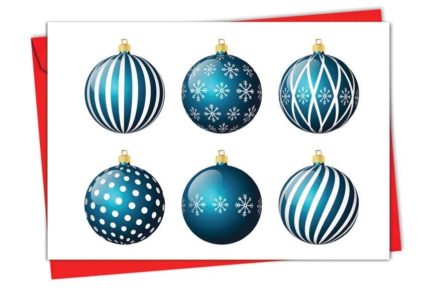 Vectornaments: Creative Christmas Greeting Card