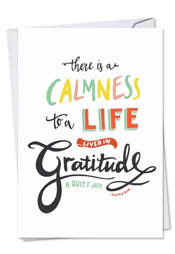 Words Of Appreciation Card