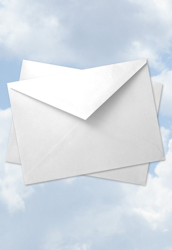 "5"" x 7"" 24lb White Envelopes: Pack of 12"