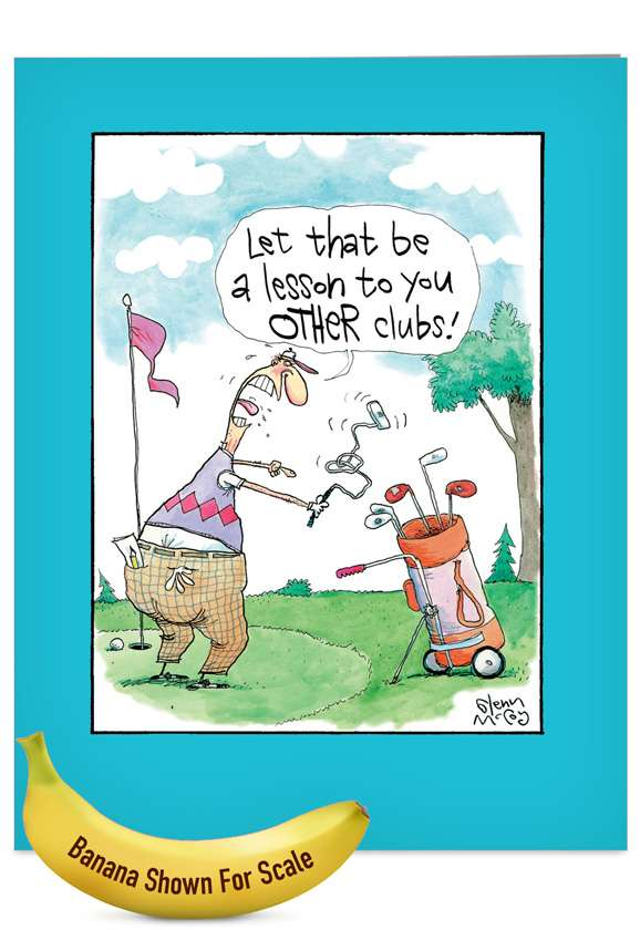Other Clubs: Hilarious Father's Day Jumbo Greeting Card