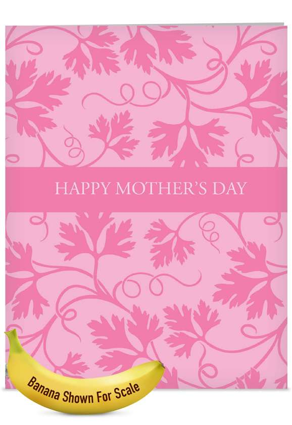 Pink By You: Creative Mother's Day Jumbo Printed Greeting Card