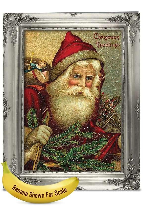 Picture-Perfect Santas: Creative Christmas Jumbo Paper Card