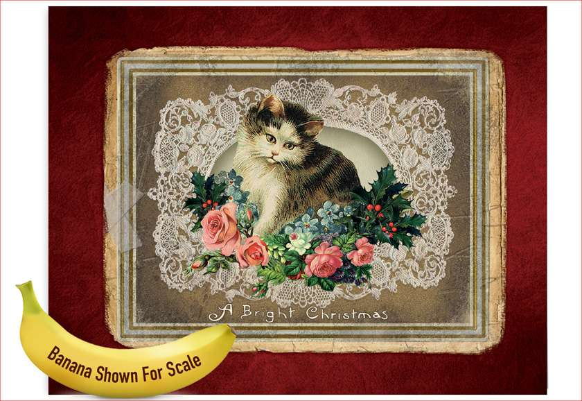 Lacy Holidays: Creative Christmas Jumbo Paper Greeting Card
