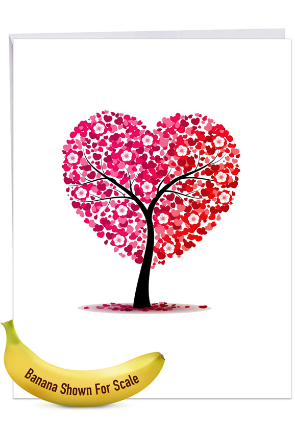 Love Trees Jumbo Card