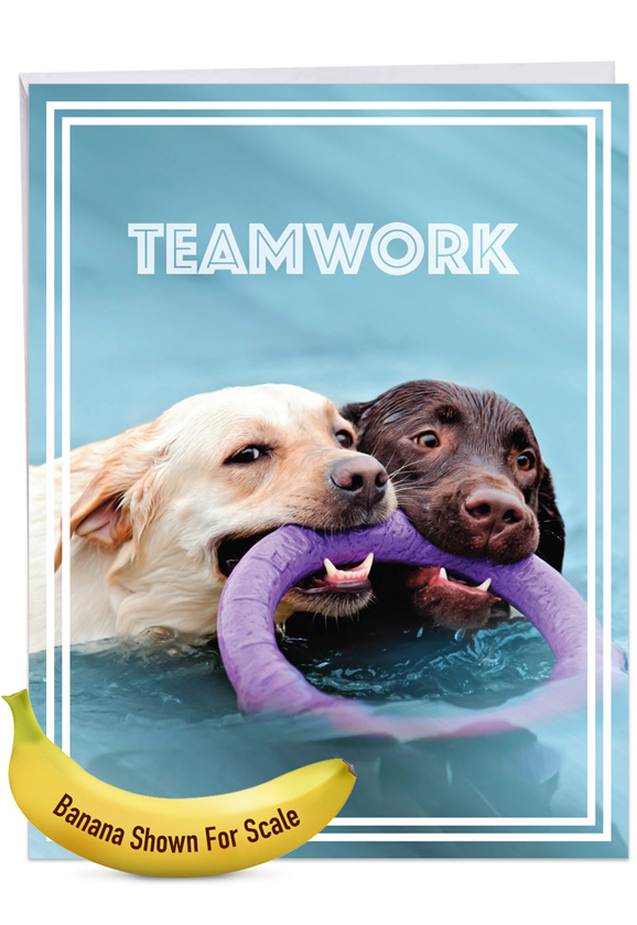 Teamwork Jumbo Card