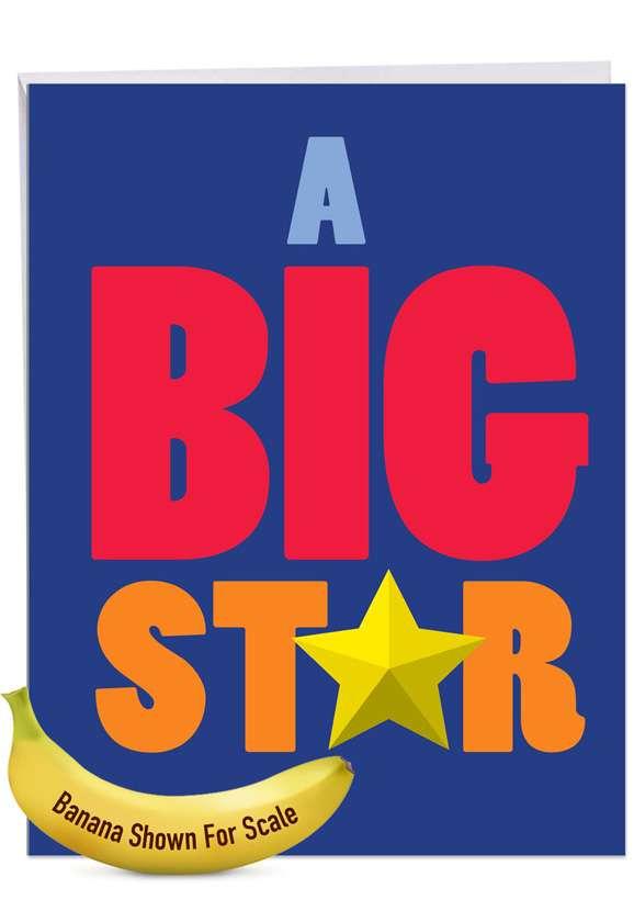 Big Star Jumbo Card