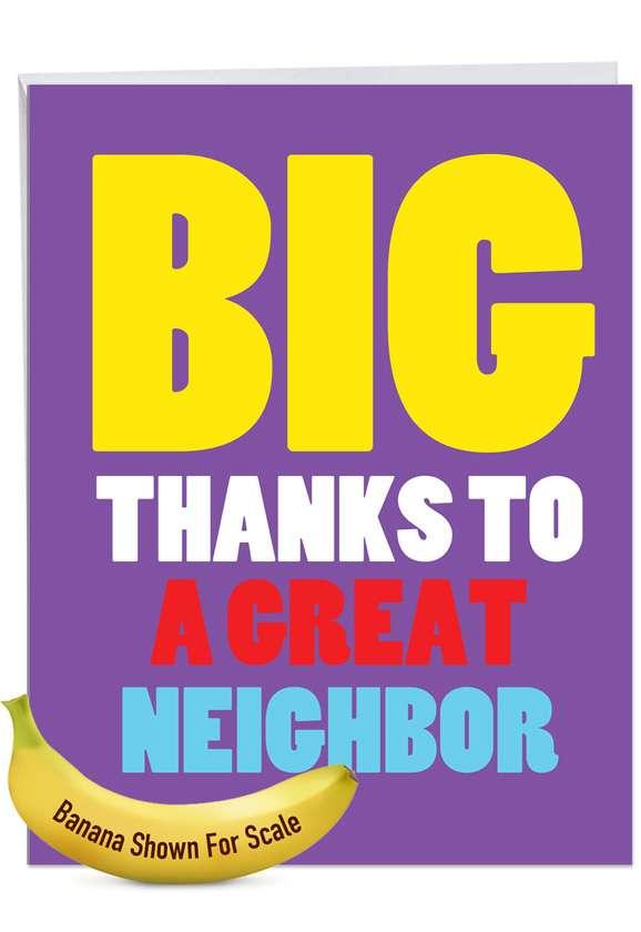 Great Neighbor Jumbo Card