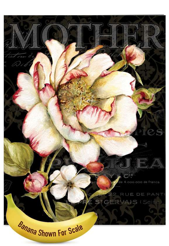 Botanica: Creative Mother's Day Jumbo Printed Card