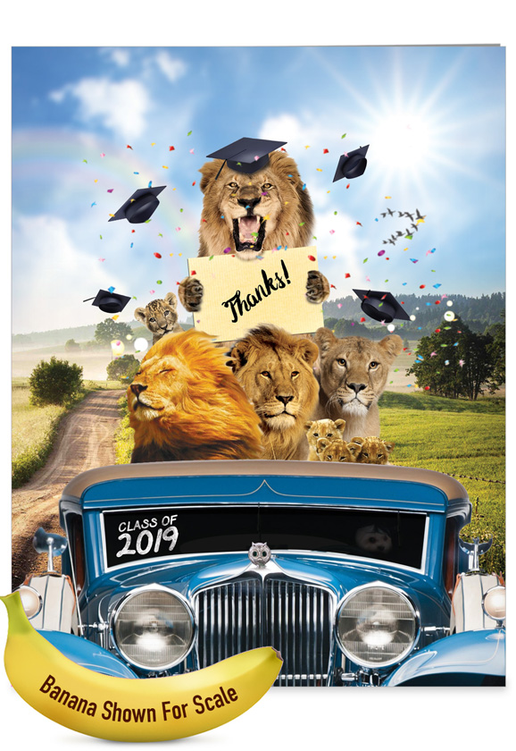 Lion Mascots - 2019 Jumbo Card