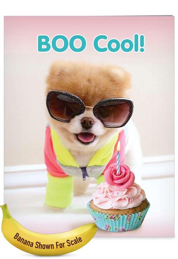 Boo Cool: Funny Birthday Big Card