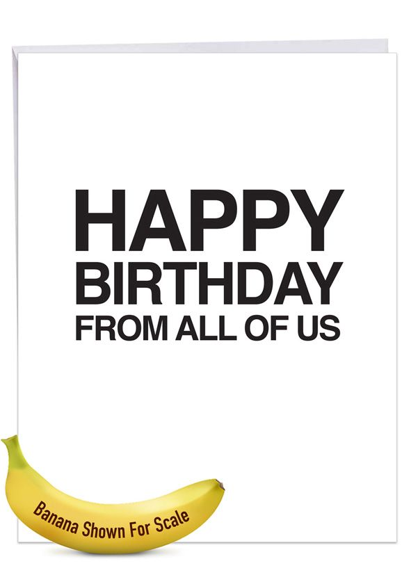 Your Effin Gift: Funny Birthday Big Card