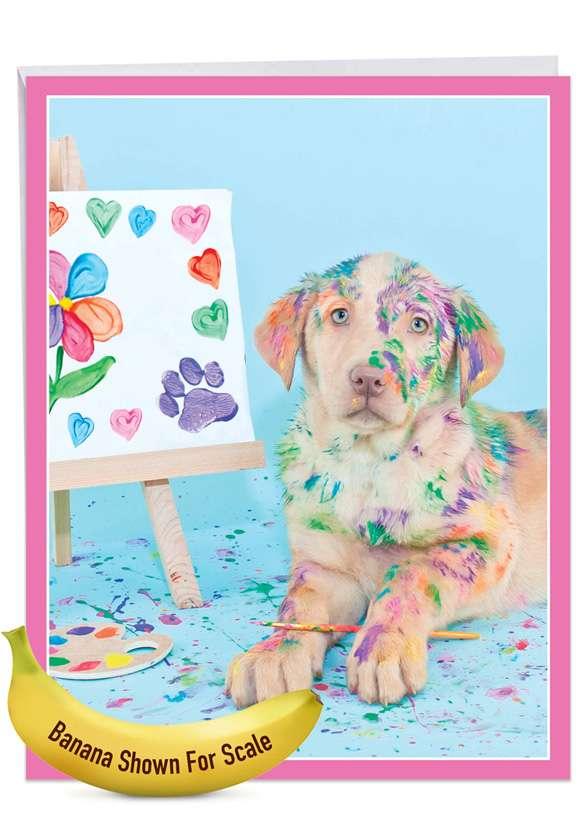 Dirty Dogs - Artist Jumbo Card
