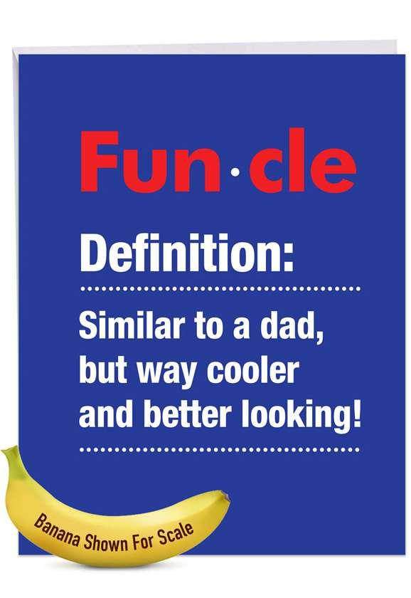 Funcle: Funny Birthday Big Card
