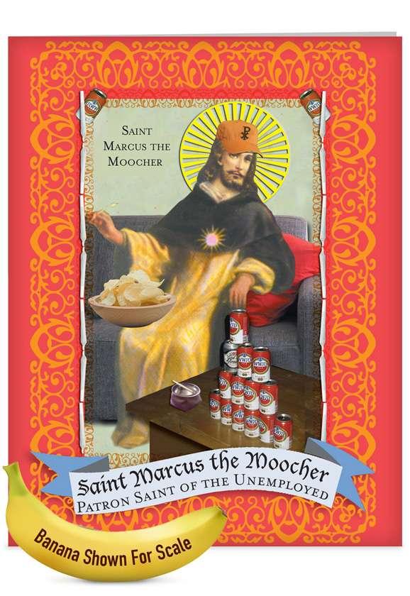 St. Marcus: Hysterical Graduation Jumbo Paper Card