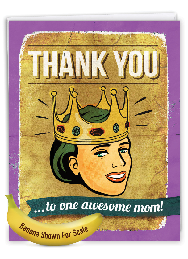 Awesome Mom: Hilarious Mother's Day Giant Printed Card